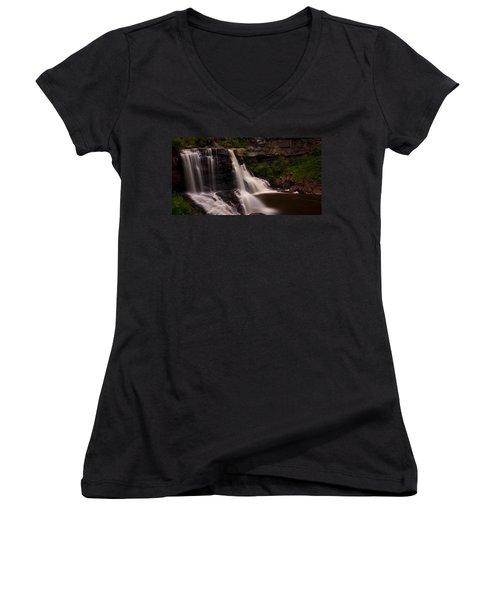 Blackwater Falls Women's V-Neck T-Shirt