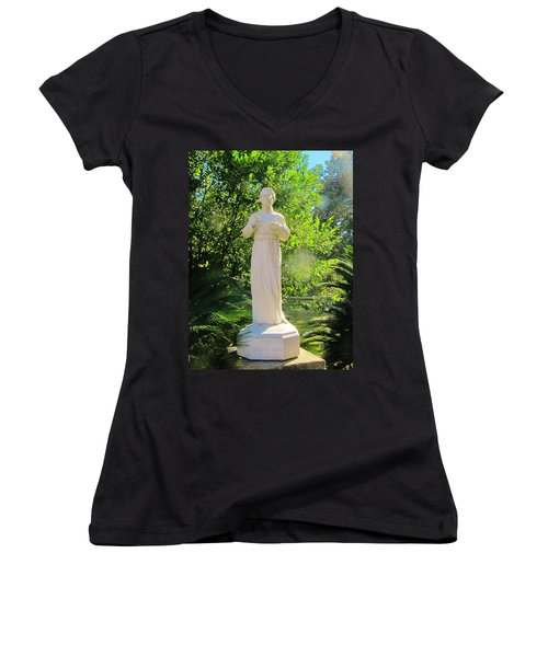 Blessed Francis Xavier Seelos C.ss.r. - New Orleans La   Women's V-Neck T-Shirt