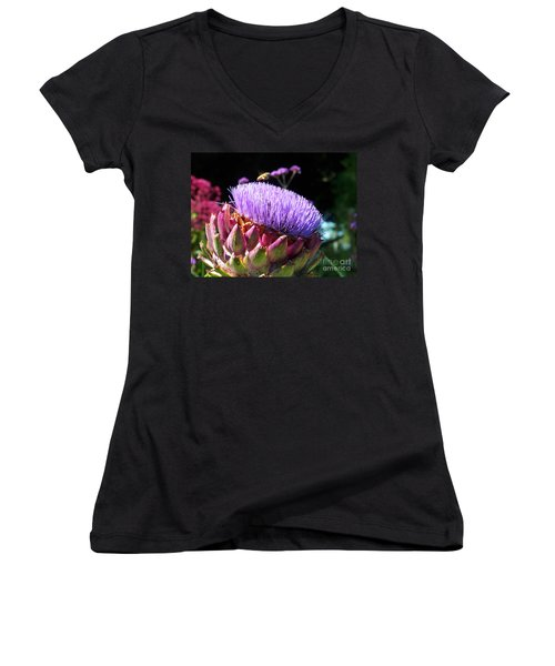Blooming 'choke Women's V-Neck (Athletic Fit)