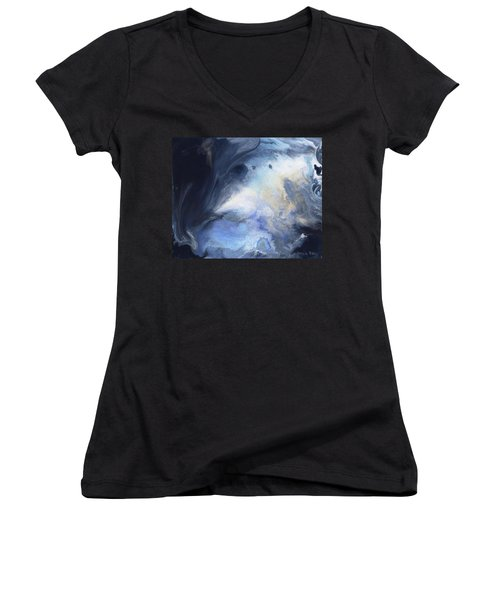 Blue Heavens Women's V-Neck T-Shirt