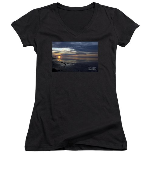 Blue Morning  Women's V-Neck