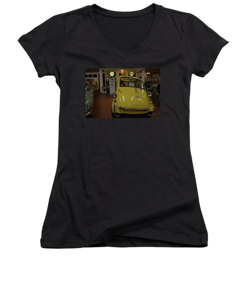 Bmw Isetta Women's V-Neck