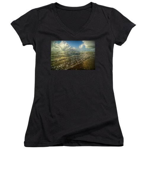 Bolivar Dreams Women's V-Neck T-Shirt