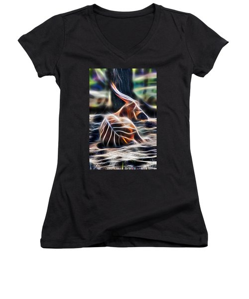 Bongo In Tune With The Energies Women's V-Neck