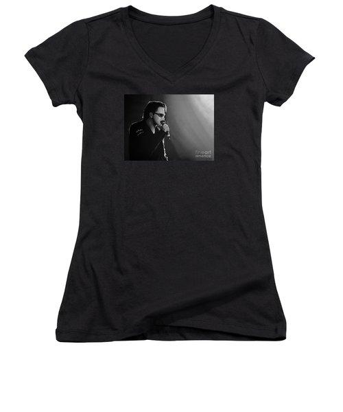 Bono Women's V-Neck T-Shirt