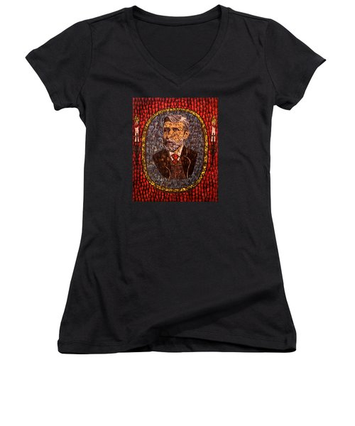 Bram Stoker Women's V-Neck (Athletic Fit)
