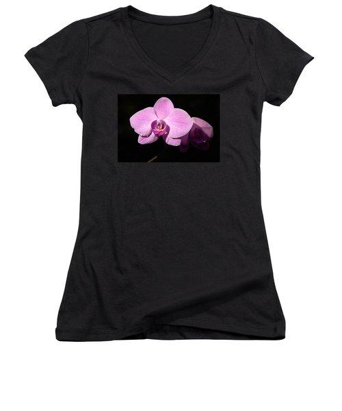 Bright Orchid Women's V-Neck