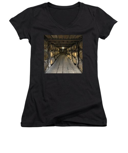 Buffalo Trace Rick House - D008610sq Women's V-Neck (Athletic Fit)