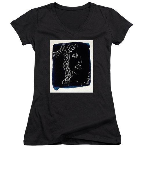 California Girl Women's V-Neck T-Shirt