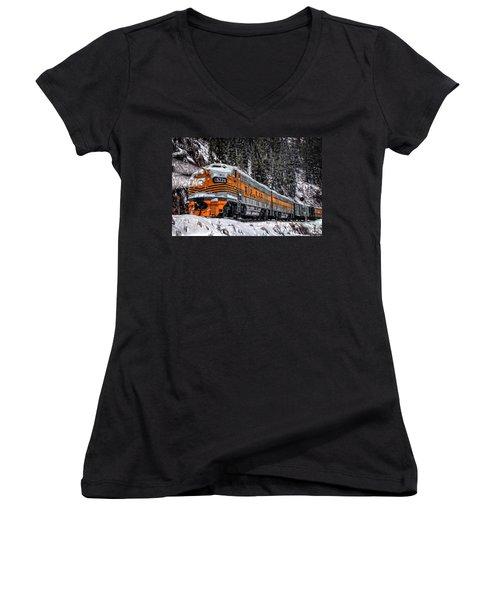 California Zephyr Women's V-Neck T-Shirt