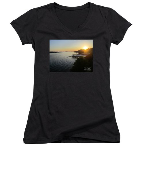 Calling It A Day Women's V-Neck T-Shirt