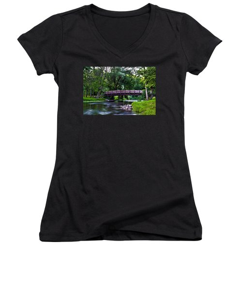 Calm Waters Women's V-Neck