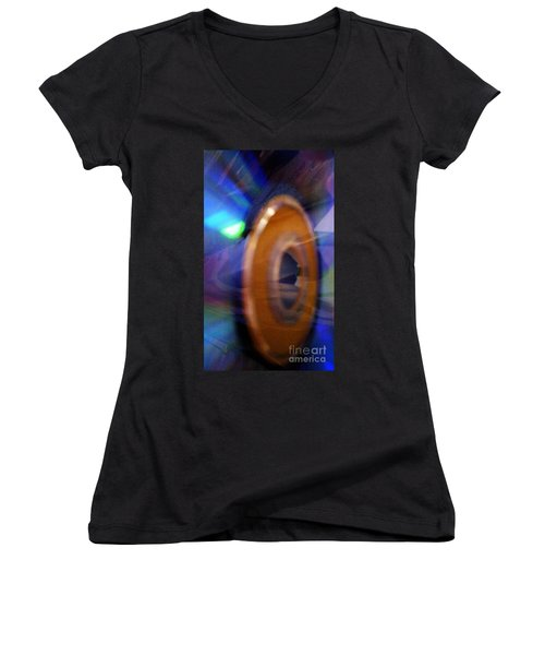 Can You Tell What It Is Yet? Women's V-Neck T-Shirt (Junior Cut) by Martin Howard
