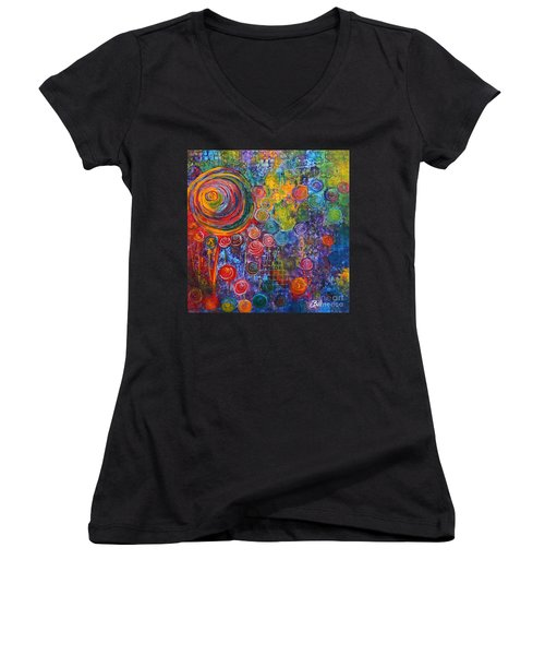 Candyland Women's V-Neck (Athletic Fit)