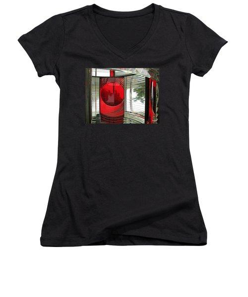 Cape Meares Light Women's V-Neck T-Shirt
