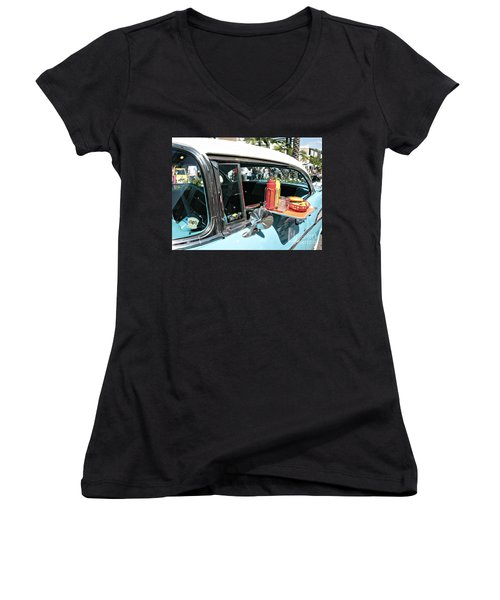 Car Hop Women's V-Neck (Athletic Fit)