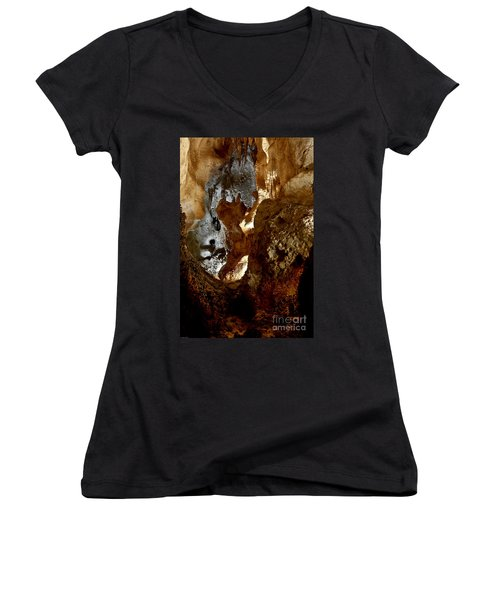 Carlsbad Caverns #1 Women's V-Neck (Athletic Fit)