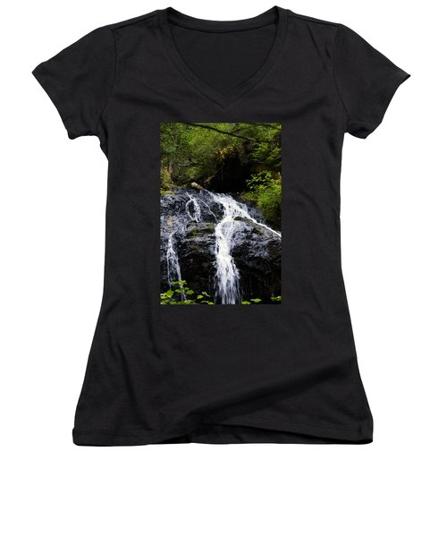 Cascade Falls Women's V-Neck (Athletic Fit)