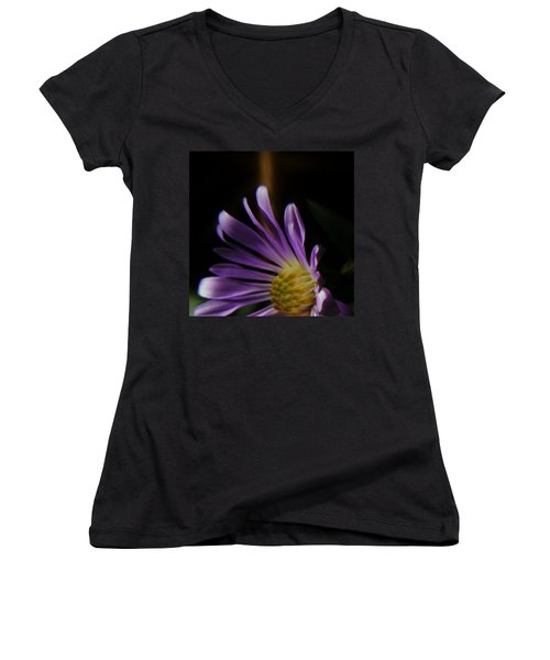 Women's V-Neck featuring the photograph Catching The Sun's Rays by Barbara St Jean
