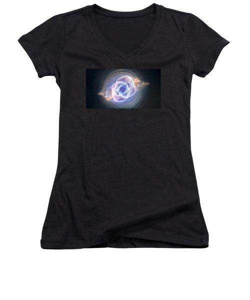 Cat's Eye Nebula Women's V-Neck