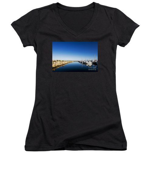 Challenger Harbour Of Fremantle Women's V-Neck