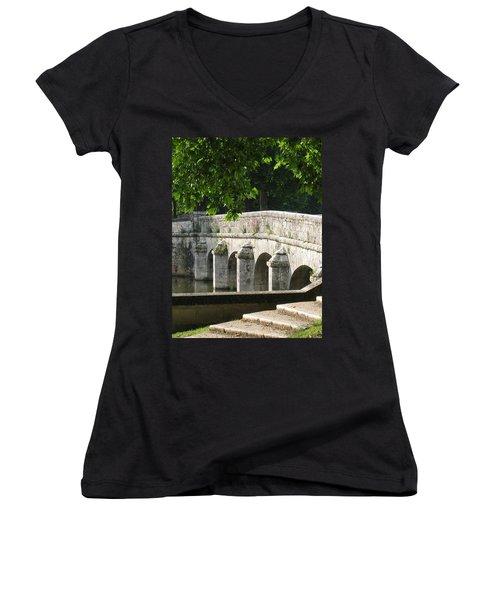 Chateau Chambord Bridge Women's V-Neck
