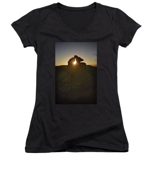 Chiricahua Sunset Women's V-Neck