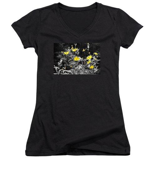 Chokeweeds Sc Women's V-Neck T-Shirt