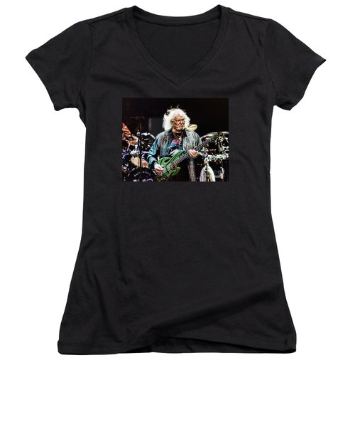 Chris Squire From Yes Women's V-Neck (Athletic Fit)