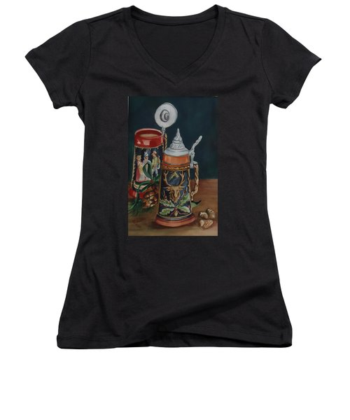 Christmas Cheer Women's V-Neck T-Shirt