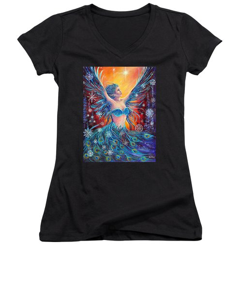 Christmas Spirit Women's V-Neck T-Shirt
