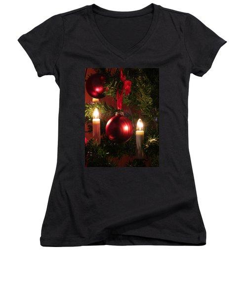 Christmas Spirit Women's V-Neck T-Shirt