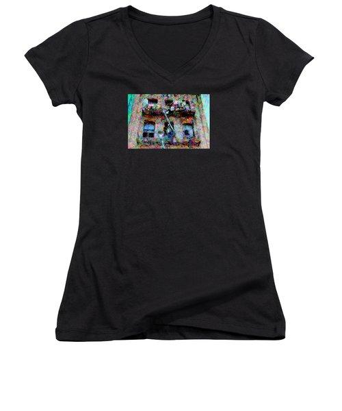 Circumstances Women's V-Neck T-Shirt