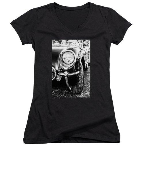 Classy Convertible Women's V-Neck T-Shirt (Junior Cut)