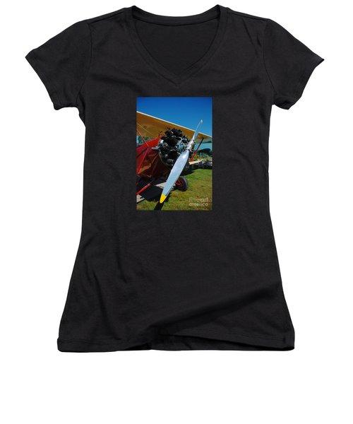 Clear Prop Women's V-Neck T-Shirt