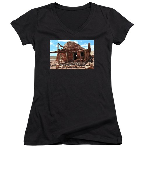 Cliff Dwellers Women's V-Neck (Athletic Fit)