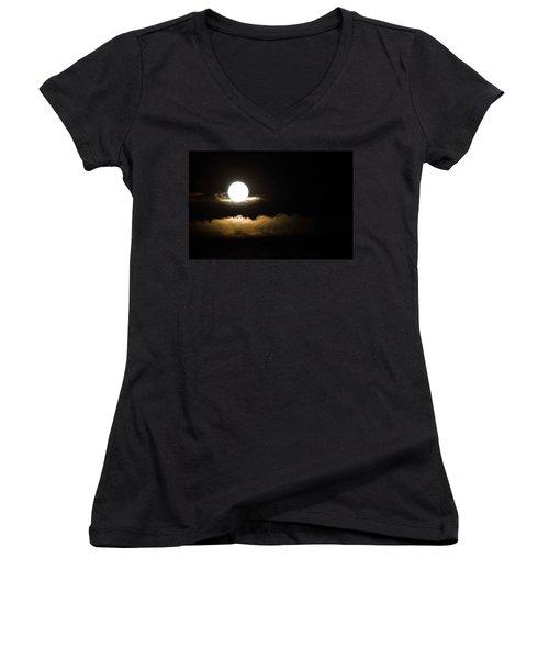 Cloud Cradle  Women's V-Neck T-Shirt
