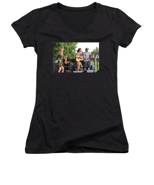 Coco And The Butterfields Women's V-Neck T-Shirt