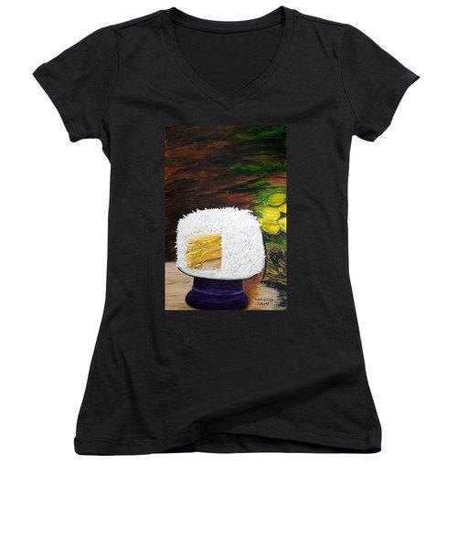 Coconut Cake Women's V-Neck T-Shirt