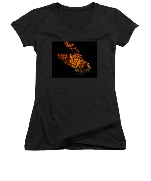 Fire Cresset Women's V-Neck (Athletic Fit)