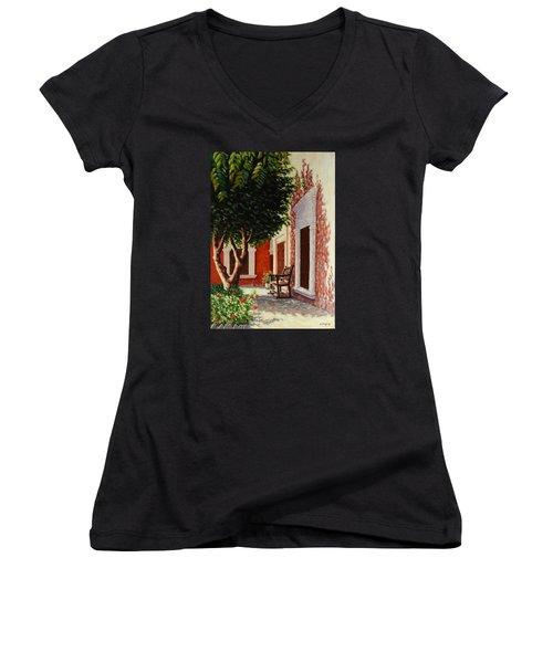 Colonial Patil Women's V-Neck T-Shirt