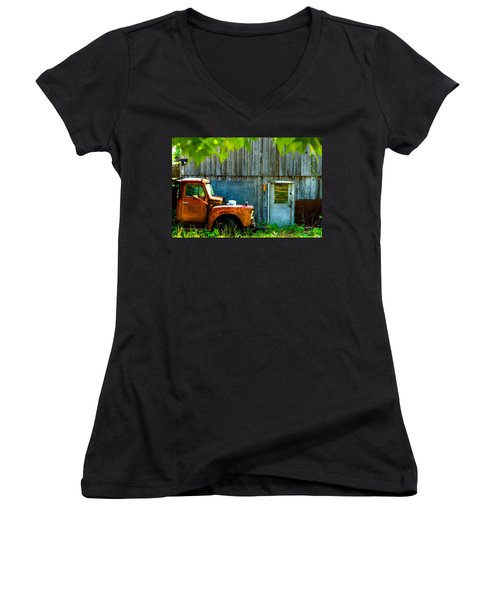 Colorado County No 57 Women's V-Neck T-Shirt
