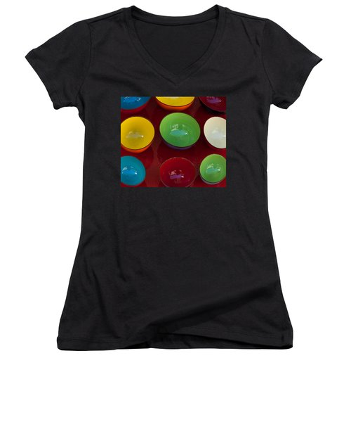 Colors Tray Women's V-Neck (Athletic Fit)