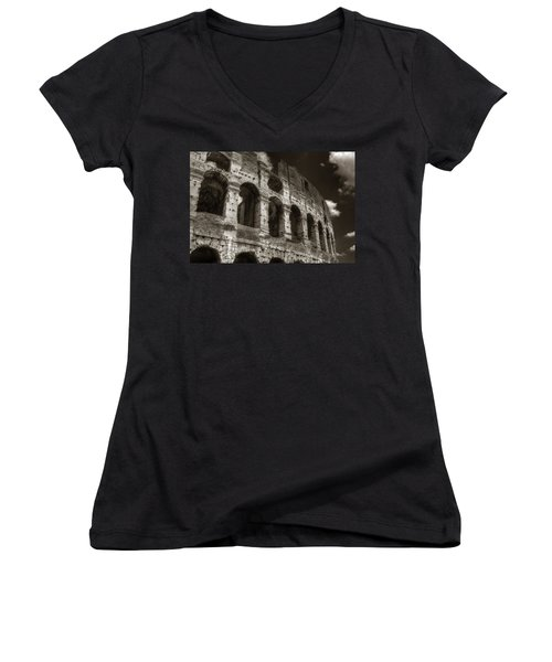 Colosseum Wall Women's V-Neck (Athletic Fit)