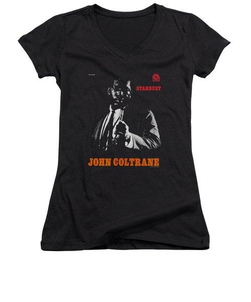 Concord Music - Coltrane Women's V-Neck T-Shirt