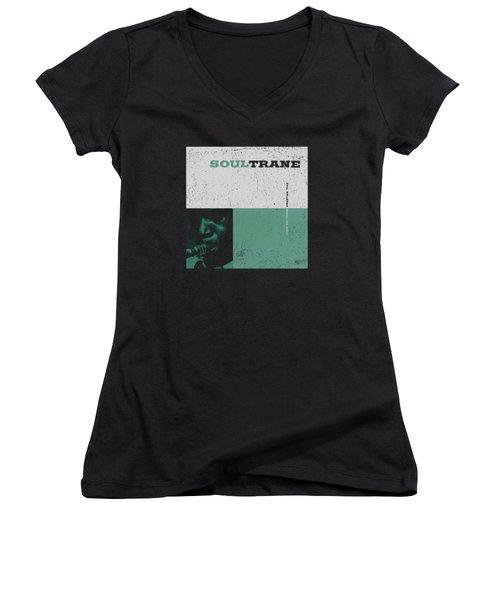 Concord Music - Soultrane Women's V-Neck T-Shirt