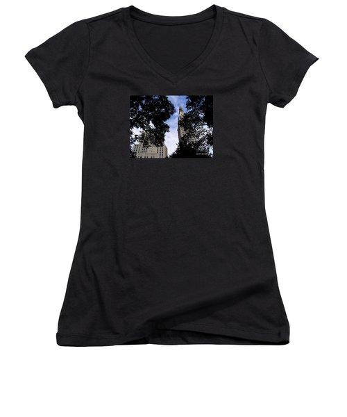 Concrete Jungle Women's V-Neck T-Shirt