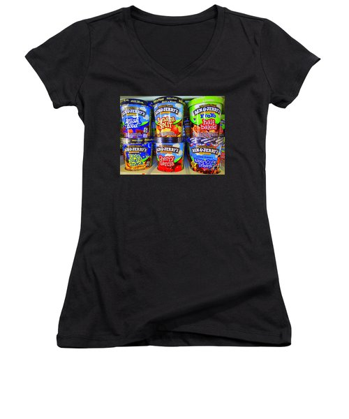 Cool Cremes Women's V-Neck T-Shirt