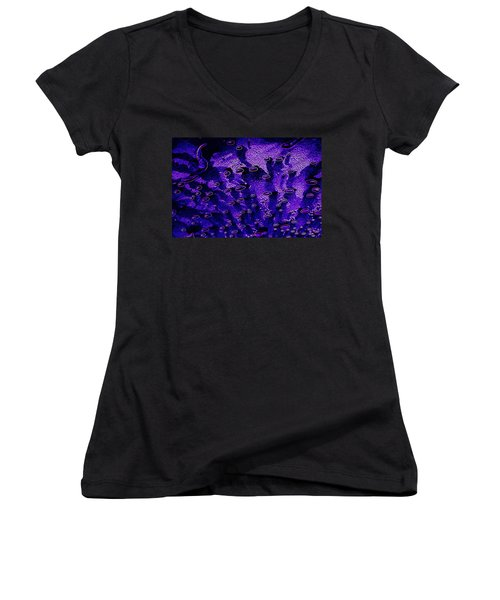 Cosmic Series 003 Women's V-Neck (Athletic Fit)