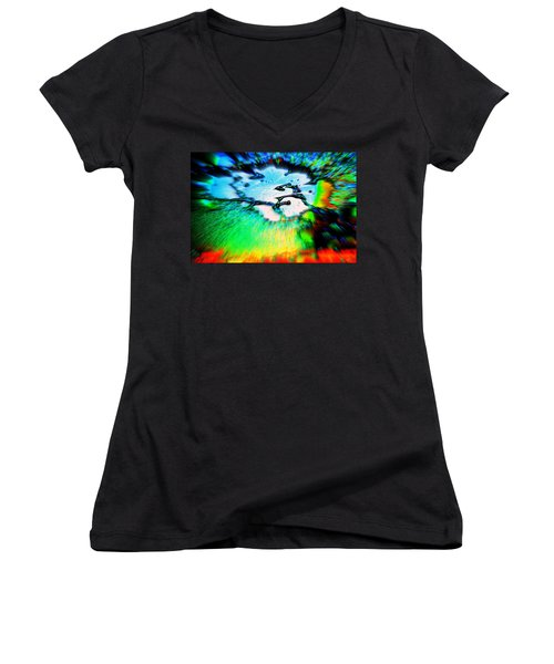 Cosmic Series 012 Women's V-Neck (Athletic Fit)